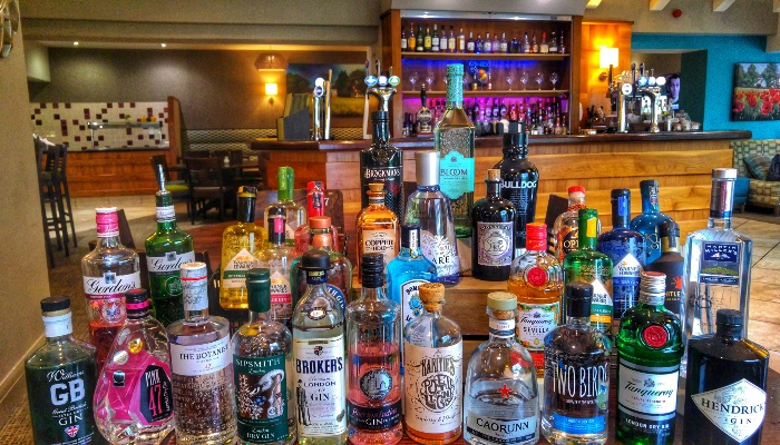 Gin Collection - over 30 different gins to choose from