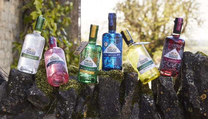 Warner's Great range of Gins