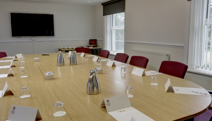 Meeting space at Ullesthorpe Court