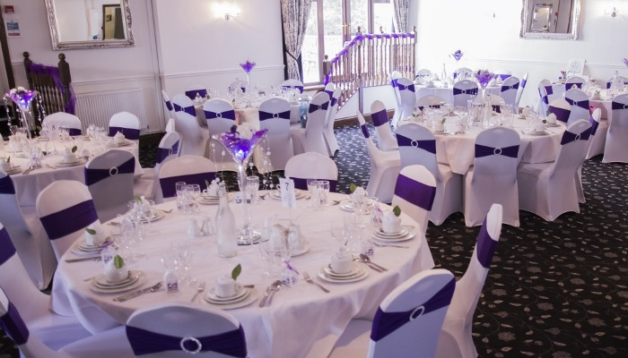 Blaby Suite in Purple